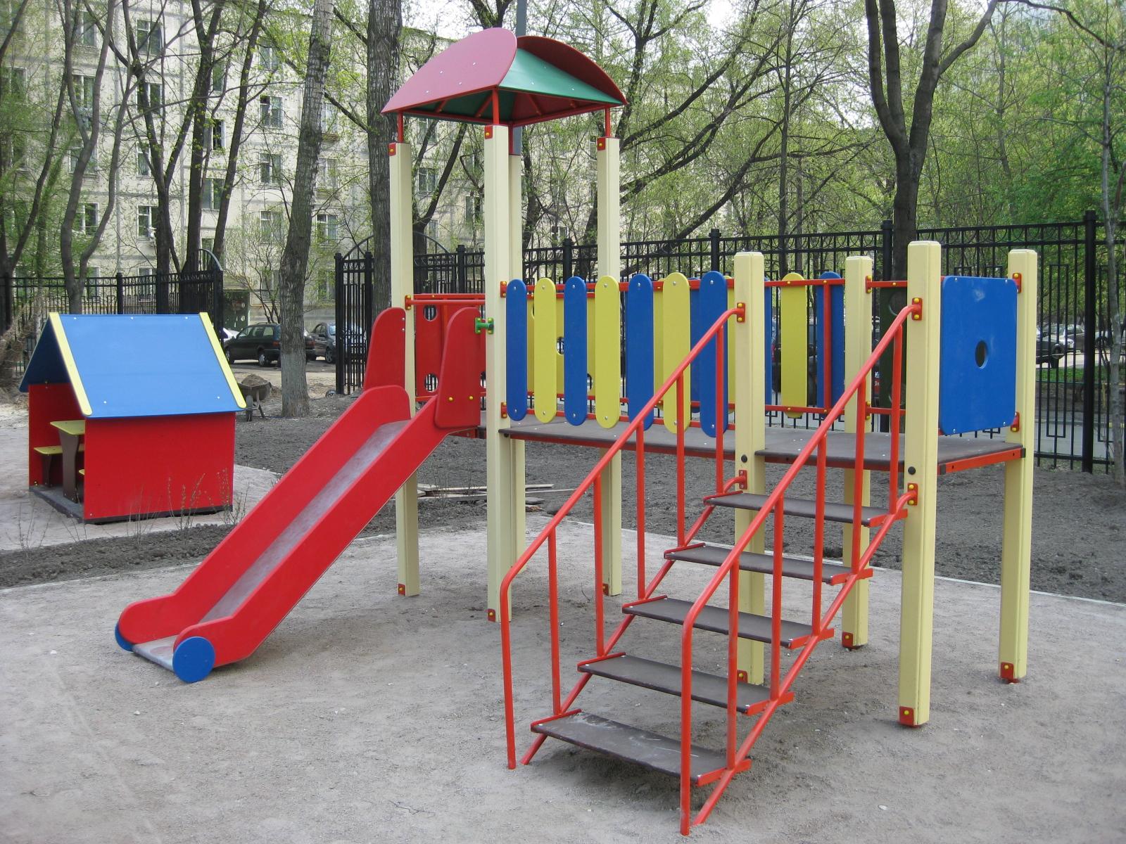 Детский сад оборудование для площадок своими руками